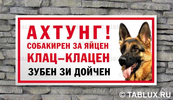 Злая собака осторожно злая собака